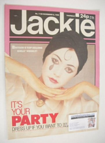 <!--1985-11-02-->Jackie magazine - 2 November 1985 (Issue 1139)