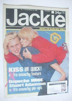 Jackie magazine - 26 October 1985 (Issue 1138)