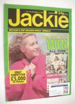 Jackie magazine - 19 October 1985 (Issue 1137)