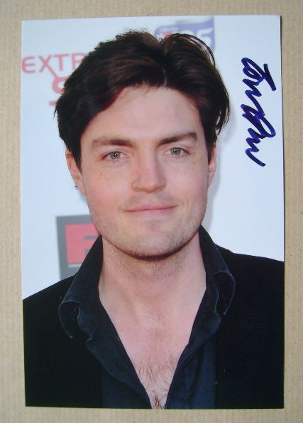 Tom Burke autograph (hand-signed photograph)