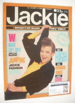 Jackie magazine - 14 September 1985 (Issue 1132)