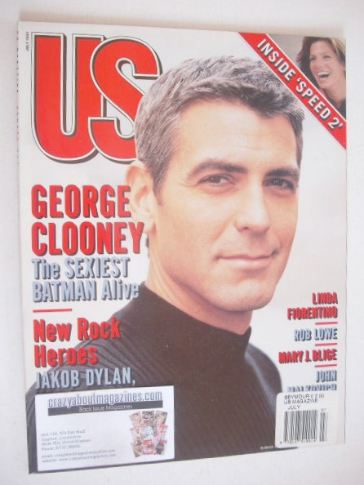<!--1997-07-->US magazine - July 1997 - George Clooney cover