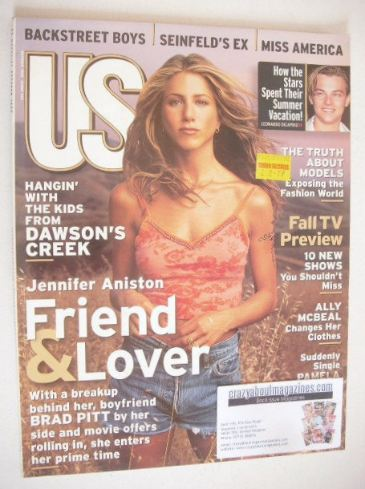 <!--1998-10-->US magazine - October 1998 - Jennifer Aniston cover