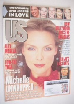 US magazine - December 1998 - Michelle Pfeiffer cover