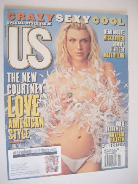 <!--1997-11-->US magazine - November 1997 - Courtney Love cover