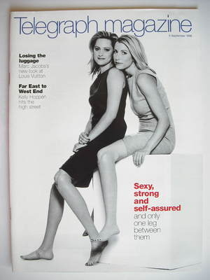 <!--1998-09-05-->Telegraph magazine - Heather Mills and Aimee Mullins cover