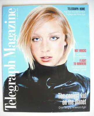 <!--1998-08-29-->Telegraph magazine - Chloe Sevigny cover (29 August 1998)