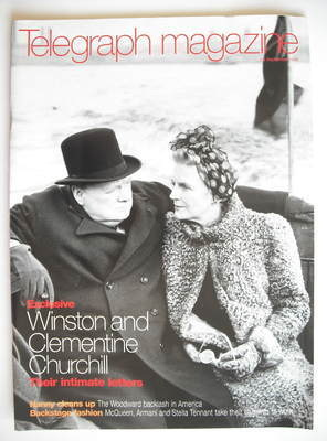 <!--1998-09-26-->Telegraph magazine - Winston Churchill and Clementine Chur