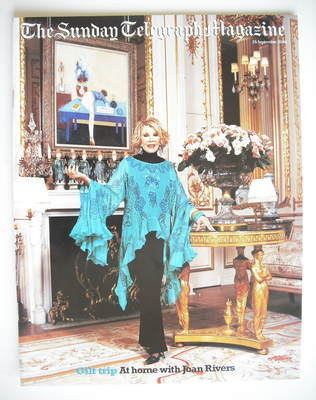 The Sunday Telegraph magazine - Joan Rivers cover (26 September 2004)
