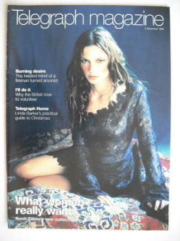 Telegraph magazine - What Women Really Want cover (5 December 1998)
