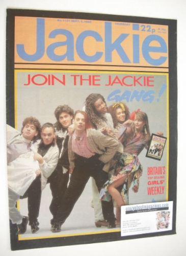 <!--1985-09-07-->Jackie magazine - 7 September 1985 (Issue 1131)