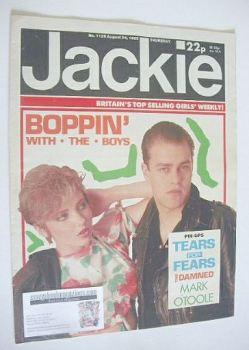 Jackie magazine - 24 August 1985 (Issue 1129)