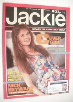 Jackie magazine - 3 August 1985 (Issue 1126)