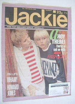 Jackie magazine - 20 July 1985 (Issue 1124)