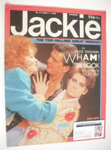 <!--1985-05-11-->Jackie magazine - 11 May 1985 (Issue 1114)