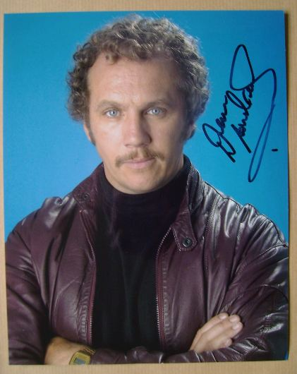Dean Andrews autograph (hand-signed photograph)