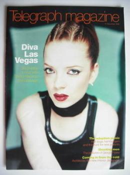 Telegraph magazine - Shirley Manson cover (21 November 1998)