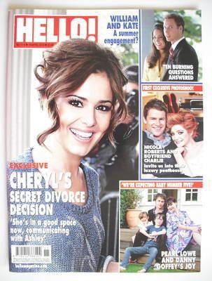 <!--2010-04-19-->Hello! magazine - Cheryl Cole cover (19 April 2010 - Issue