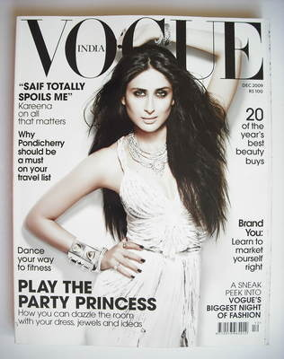 <!--2009-12-->Vogue India magazine - December 2009 - Kareena Kapoor cover