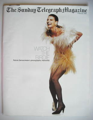 The Sunday Telegraph magazine - Linda Evangelista cover (7 February 1999)