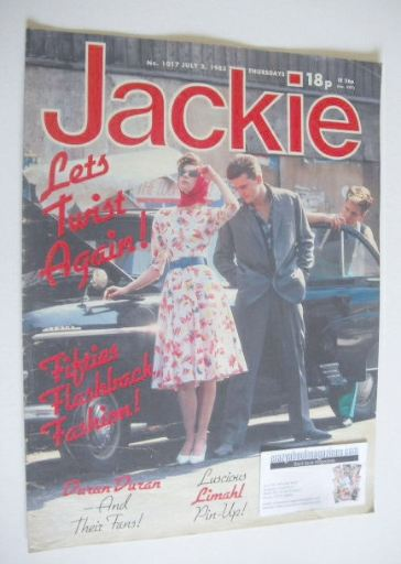 <!--1983-07-02-->Jackie magazine - 2 July 1983 (Issue 1017)