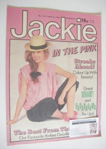 <!--1983-06-04-->Jackie magazine - 4 June 1983 (Issue 1013)