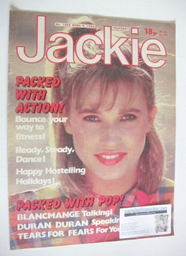 <!--1983-04-09-->Jackie magazine - 9 April 1983 (Issue 1005)