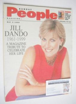 Sunday People magazine - 9 May 1999 - Jill Dando cover