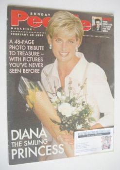 Sunday People magazine - 28 February 1999 - Princess Diana cover