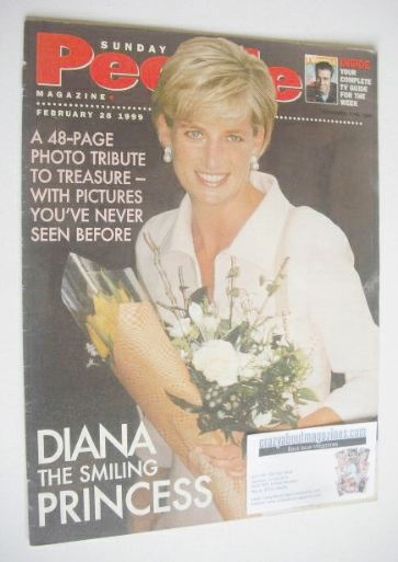 <!--1999-02-28-->Sunday People magazine - 28 February 1999 - Princess Diana