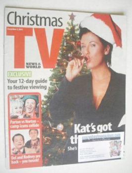 News Of The World Christmas TV supplement (2 December 2001)