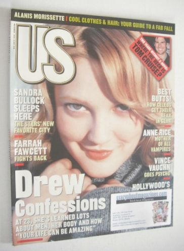 <!--1998-11-->US magazine - November 1998 - Drew Barrymore cover