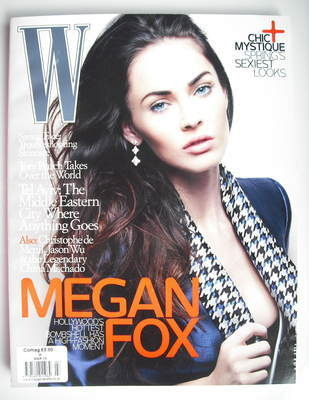 <!--2010-03-->W magazine - March 2010 - Megan Fox cover