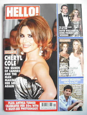 <!--2010-05-31-->Hello! magazine - Cheryl Cole cover (31 May 2010 - Issue 1