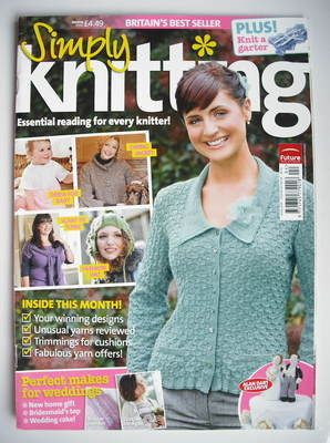 Simply Knitting magazine (Issue 52 - April 2009)