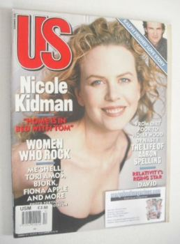 US magazine - December 1996 - Nicole Kidman cover