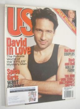 US magazine - March 1998 - David Duchovny cover