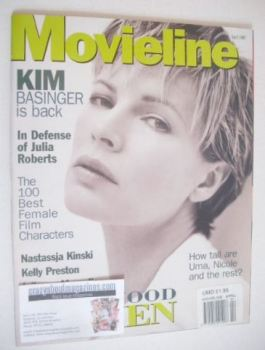 Movieline magazine - April 1997 - Kim Basinger cover