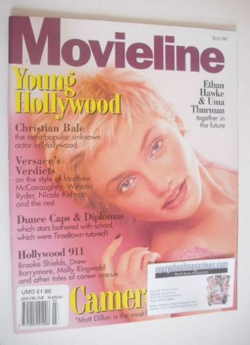 <!--1997-03-->Movieline magazine - March 1997 - Cameron Diaz cover