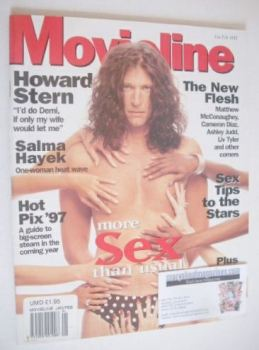 Movieline magazine - January/February 1997 - Howard Stern cover