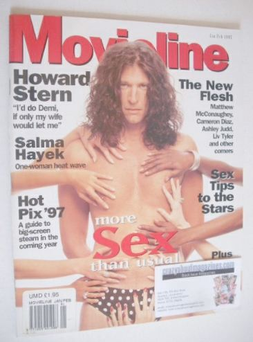 <!--1997-01-->Movieline magazine - January/February 1997 - Howard Stern cov