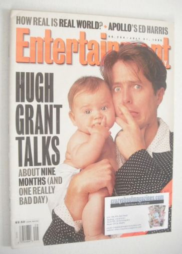 <!--1995-07-21-->Entertainment Weekly magazine - Hugh Grant cover (21 July