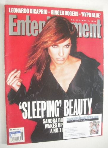 <!--1995-05-05-->Entertainment Weekly magazine - Sandra Bullock cover (5 Ma