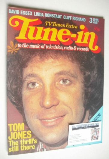 Tune-In magazine - Tom Jones cover
