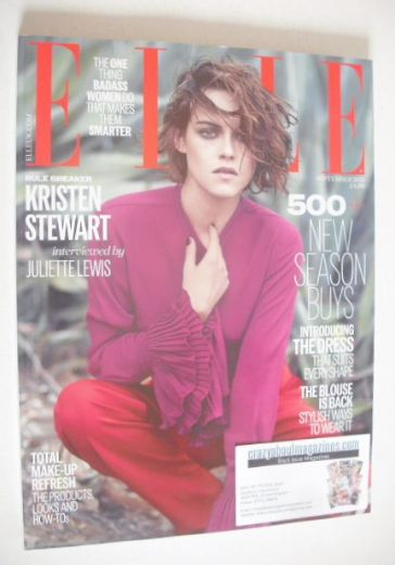 <!--2015-09-->British Elle magazine - September 2015 - Kristen Stewart cove