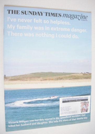 <!--2014-11-09-->The Sunday Times magazine - Speedboat cover (9 November 20
