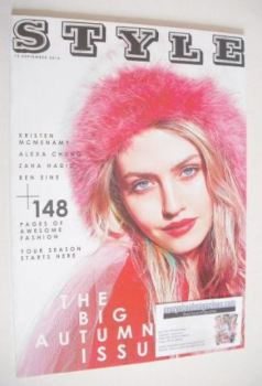 Style magazine - Charlotte Free cover (15 September 2013)