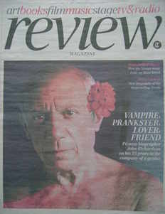 The Daily Telegraph Review newspaper supplement - 15 May 2010 - Pablo Picas