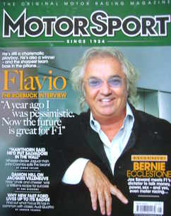 Motorsport Magazine - May 2009 - Flavio Briatore cover