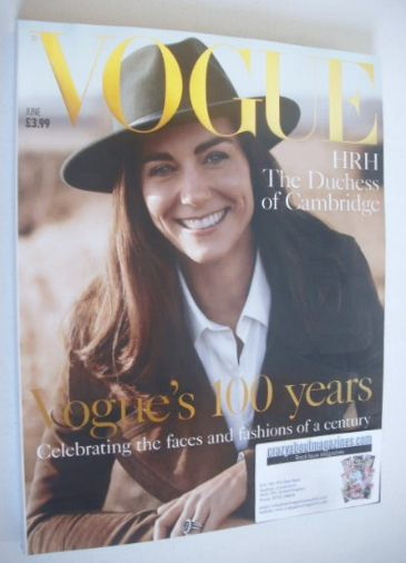 <!--2016-06-->British Vogue magazine - June 2016 - The Duchess of Cambridge